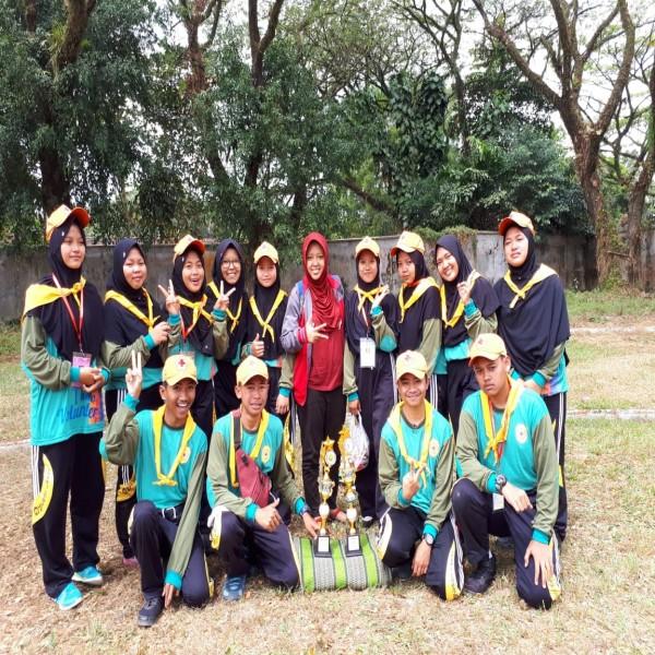 Dua trophy prestasi tingkat Jawa Timur PRASMAKENZ di Laga Paramaduta XII